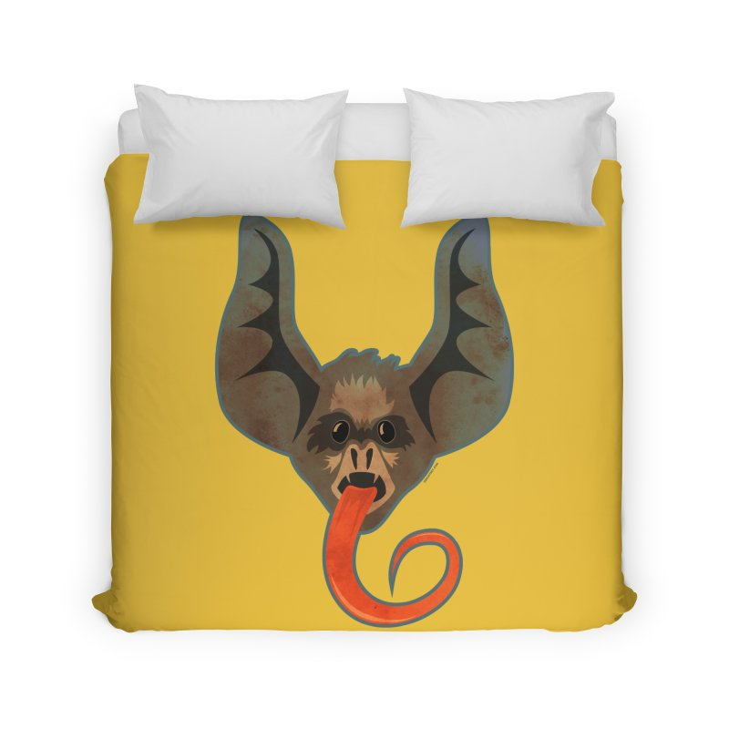 Bat Home Duvet by Zerostreet's Artist Shop