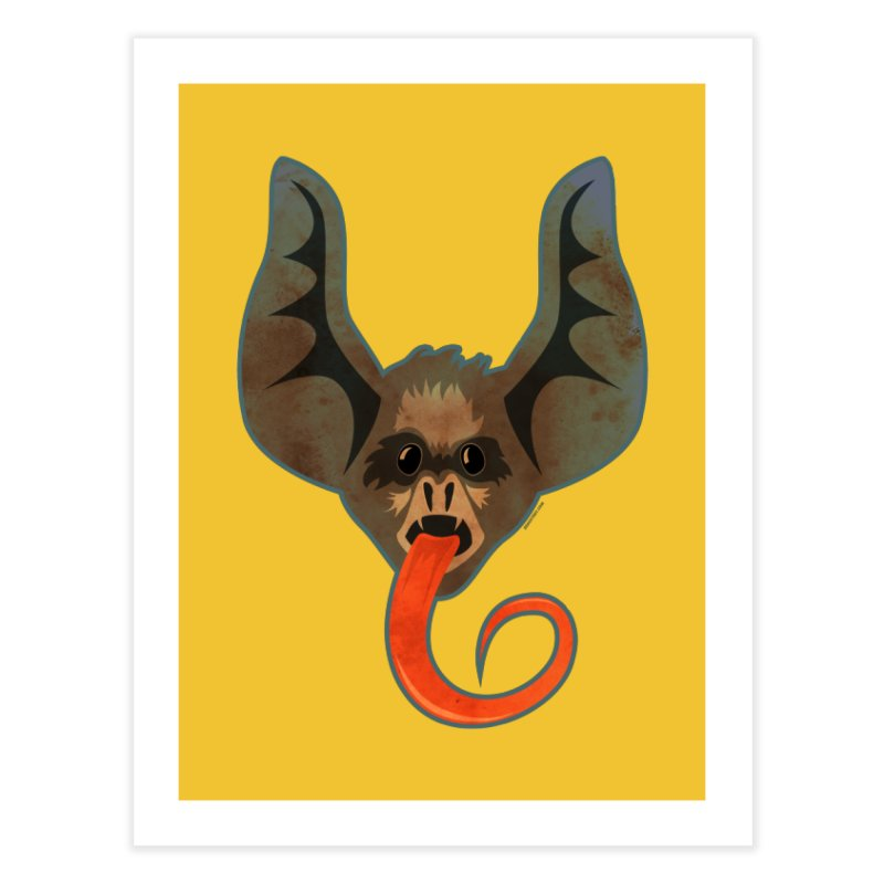 Bat Home Fine Art Print by Zerostreet's Artist Shop