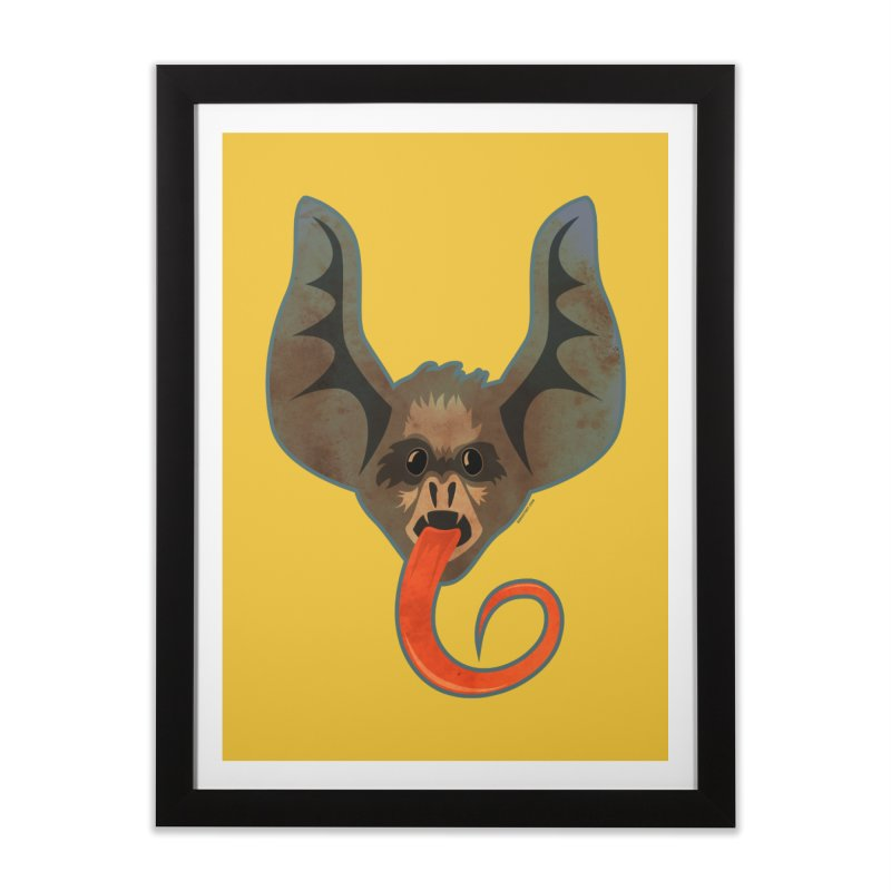 Bat Tongue Home Framed Fine Art Print by Zerostreet's Artist Shop