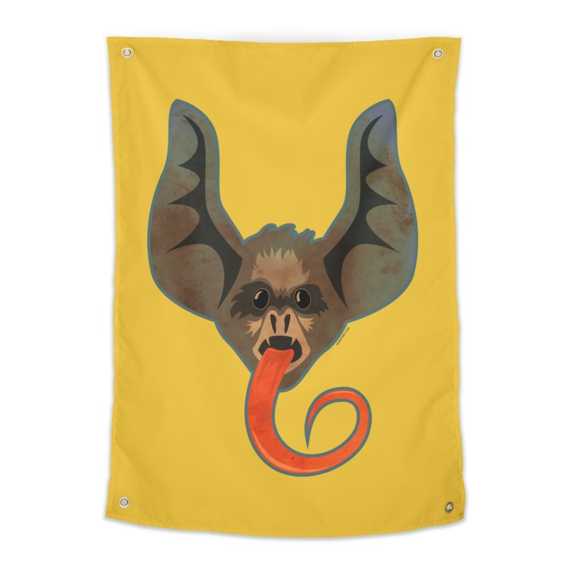 Bat Home Tapestry by Zerostreet's Artist Shop