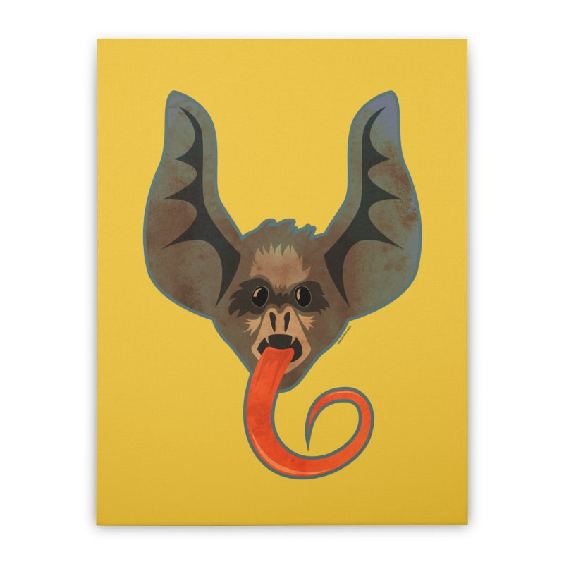 Bat Home Stretched Canvas by Zerostreet's Artist Shop