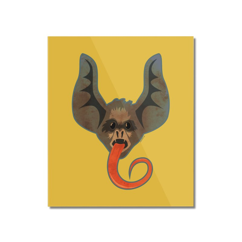 Bat Tongue Home Mounted Acrylic Print by Zerostreet's Artist Shop
