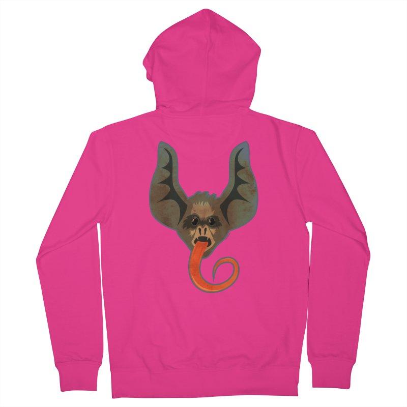 Bat Tongue Men's Zip-Up Hoody by Zerostreet's Artist Shop