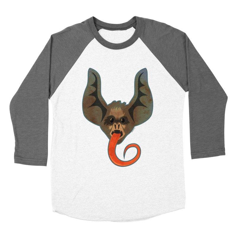 Bat Tongue Women's Baseball Triblend T-Shirt by Zerostreet's Artist Shop