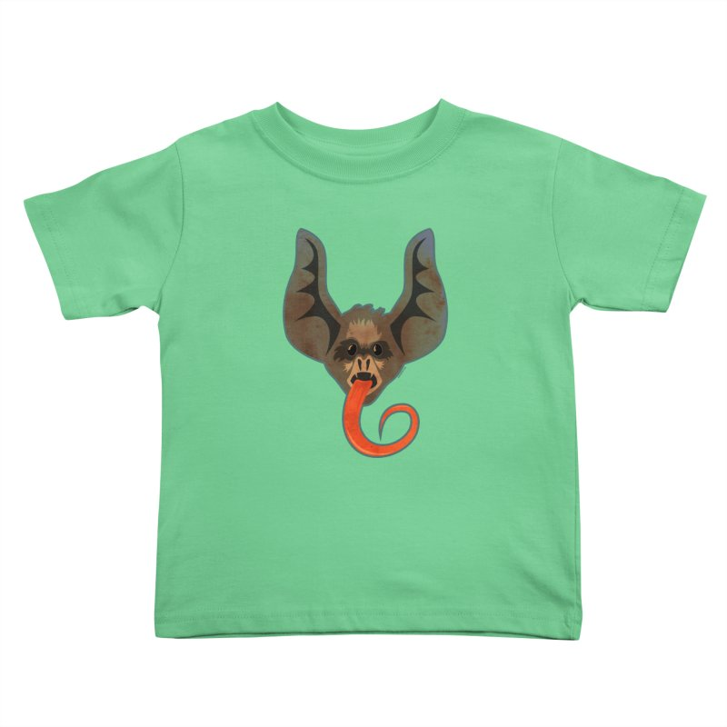 Bat Tongue Kids Toddler T-Shirt by Zerostreet's Artist Shop