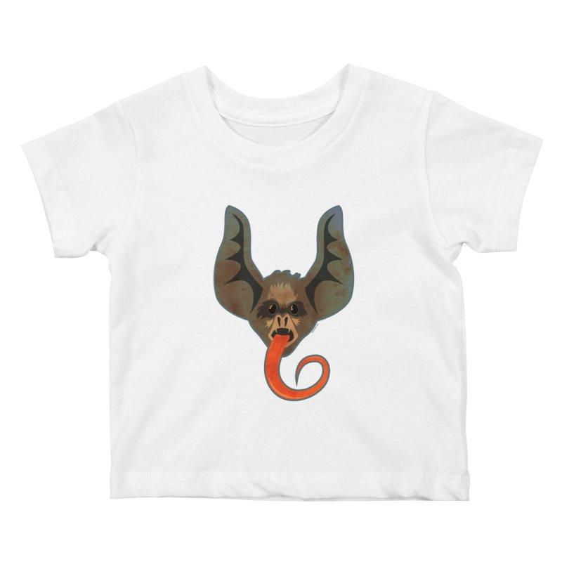Bat Tongue Kids Baby T-Shirt by Zerostreet's Artist Shop
