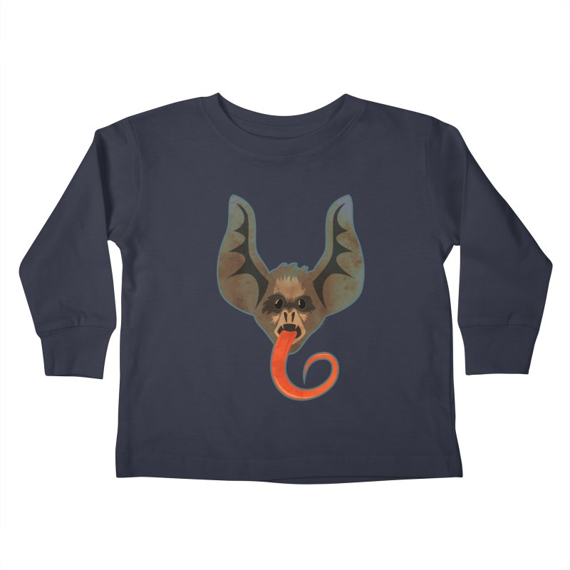 Bat Tongue Kids Toddler Longsleeve T-Shirt by Zerostreet's Artist Shop
