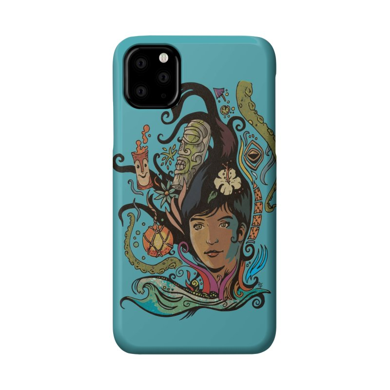 Wahine #4 Accessories Phone Case by Zerostreet's Artist Shop