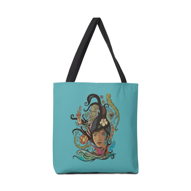 Wahine #4 Accessories Tote Bag Bag by Zerostreet's Artist Shop