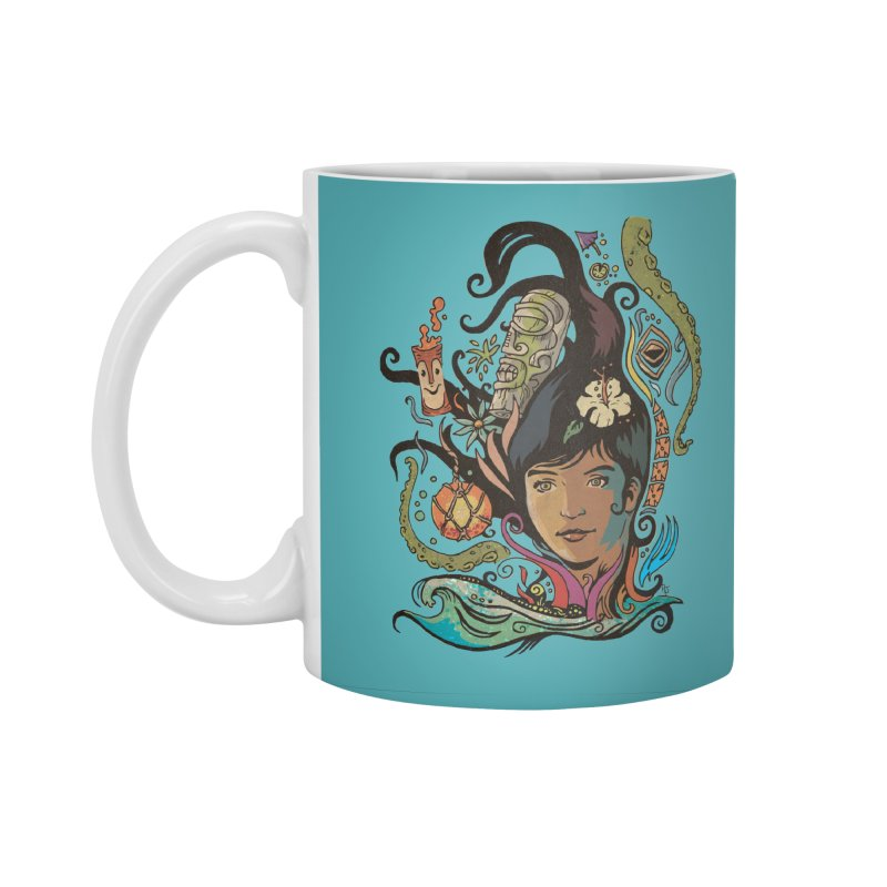 Wahine #4 Accessories Standard Mug by Zerostreet's Artist Shop
