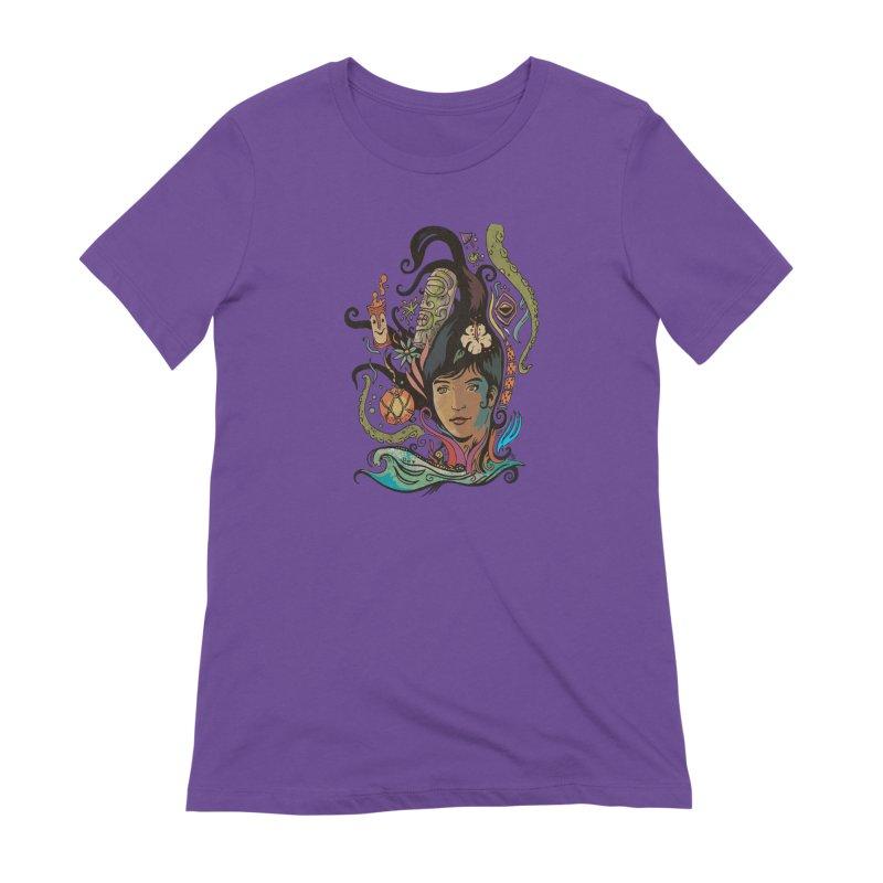 Wahine #4 Women's Extra Soft T-Shirt by Zerostreet's Artist Shop