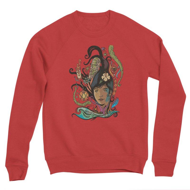 Wahine #4 Men's Sponge Fleece Sweatshirt by Zerostreet's Artist Shop