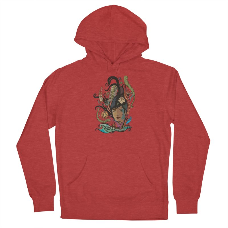 Wahine #4 Women's French Terry Pullover Hoody by Zerostreet's Artist Shop