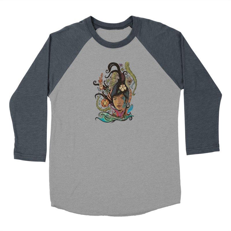 Wahine #4 Women's Baseball Triblend Longsleeve T-Shirt by Zerostreet's Artist Shop