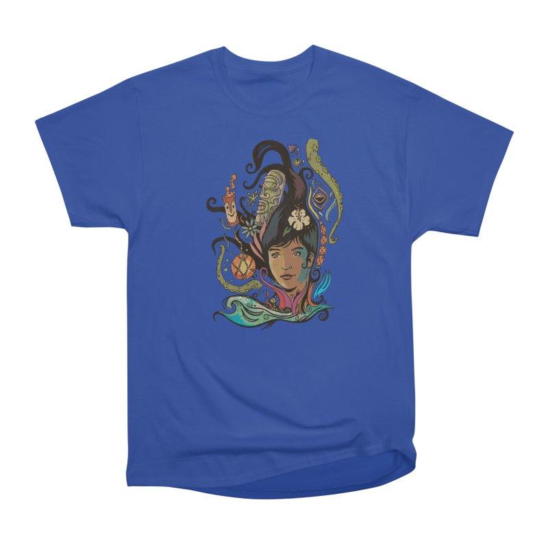 Wahine #4 Women's Heavyweight Unisex T-Shirt by Zerostreet's Artist Shop