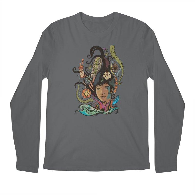 Wahine #4 Men's Regular Longsleeve T-Shirt by Zero Street's Artist Shop