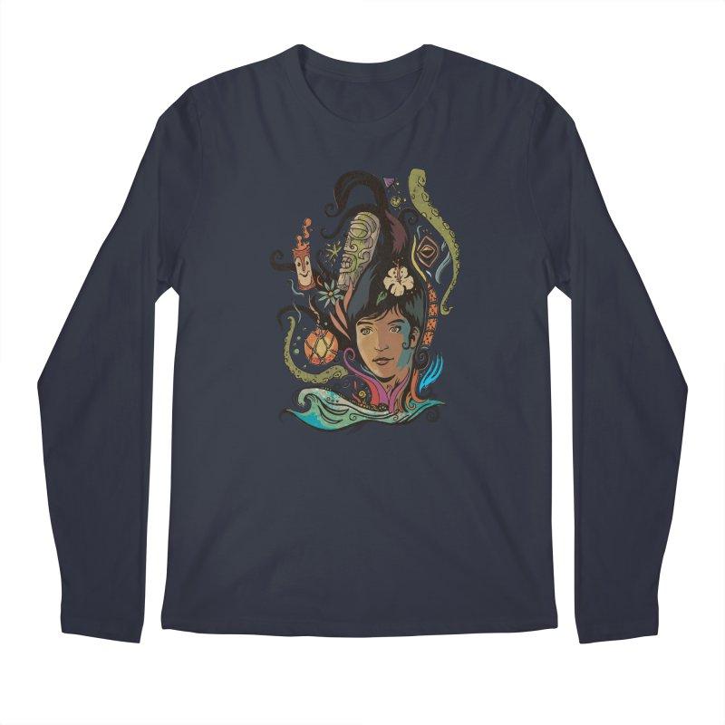 Wahine #4 Men's Regular Longsleeve T-Shirt by Zerostreet's Artist Shop