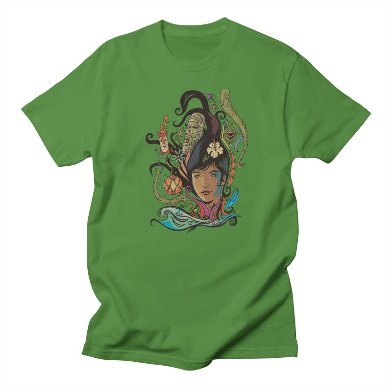 Wahine #4 Men's Regular T-Shirt by Zerostreet's Artist Shop