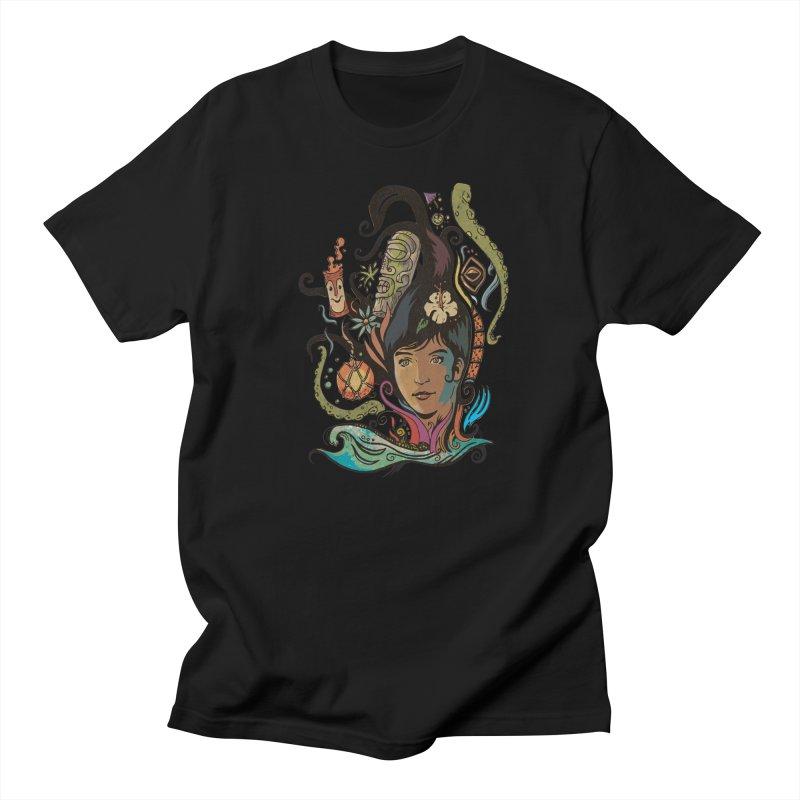 Wahine #4 Men's Regular T-Shirt by Zerostreet's Artist Shop