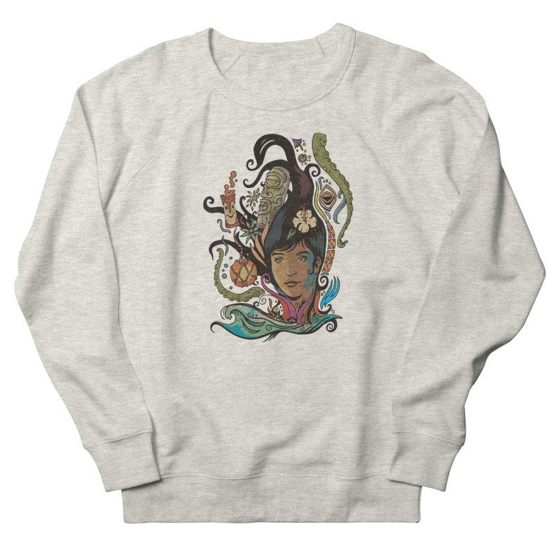 Wahine #4 Women's French Terry Sweatshirt by Zerostreet's Artist Shop