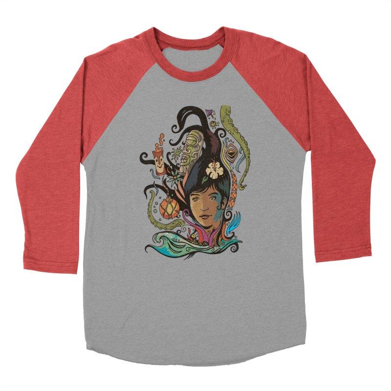Wahine #4 Men's Baseball Triblend Longsleeve T-Shirt by Zerostreet's Artist Shop