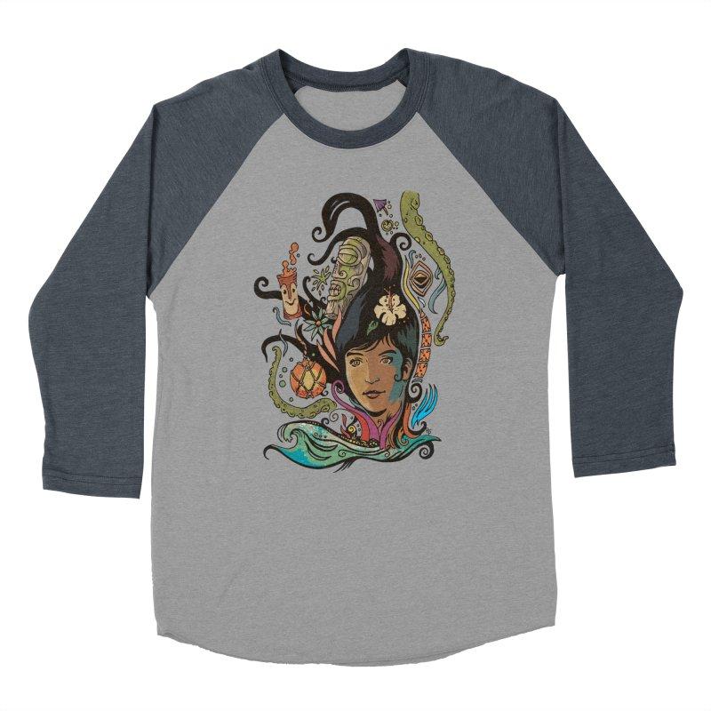 Wahine #4 Men's Baseball Triblend Longsleeve T-Shirt by Zero Street's Artist Shop