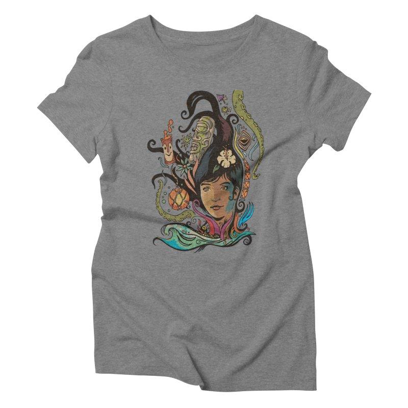 Wahine #4 Women's Triblend T-Shirt by Zero Street's Artist Shop