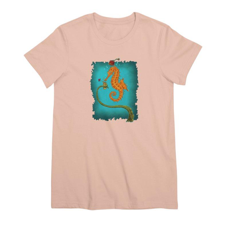 Drinking Buddies Women's Premium T-Shirt by Zero Street's Artist Shop