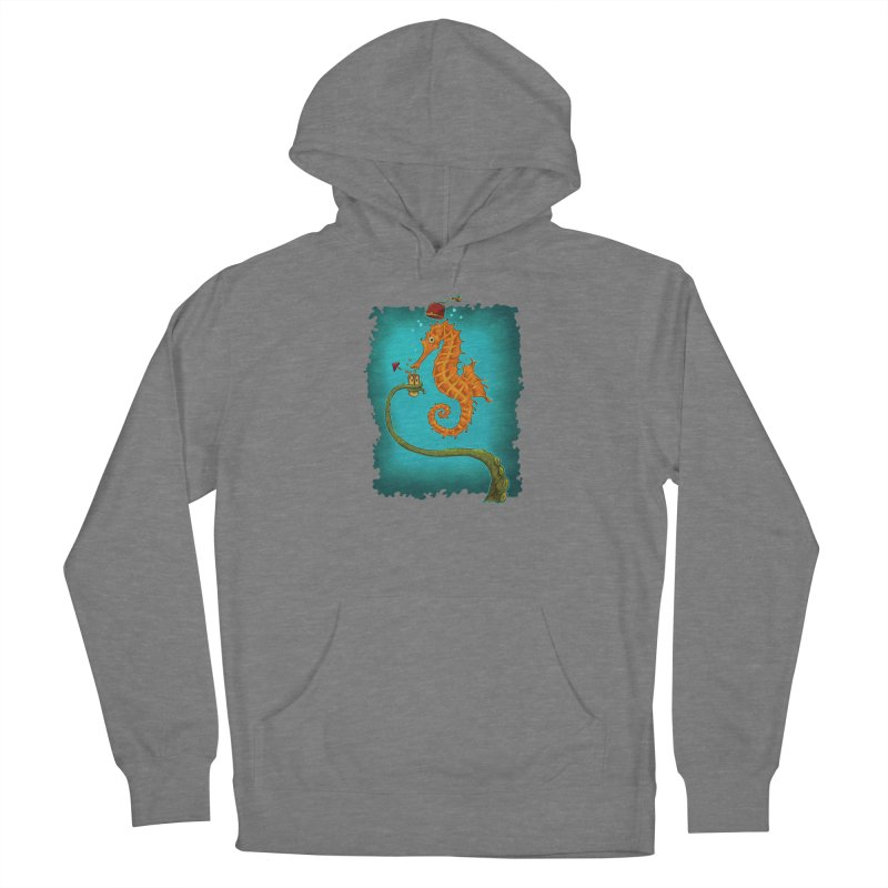 Drinking Buddies Women's French Terry Pullover Hoody by Zerostreet's Artist Shop