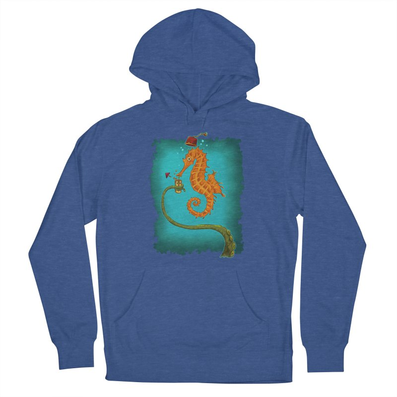 Drinking Buddies Women's French Terry Pullover Hoody by Zero Street's Artist Shop