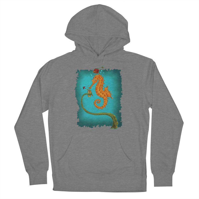Drinking Buddies Men's French Terry Pullover Hoody by Zerostreet's Artist Shop