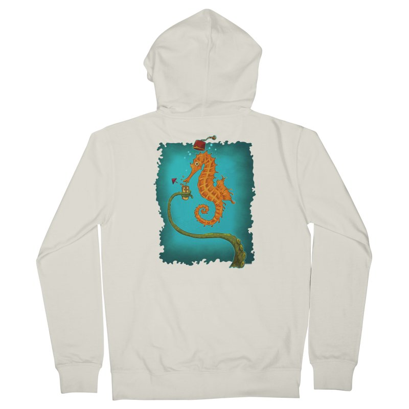 Drinking Buddies Men's French Terry Zip-Up Hoody by Zerostreet's Artist Shop