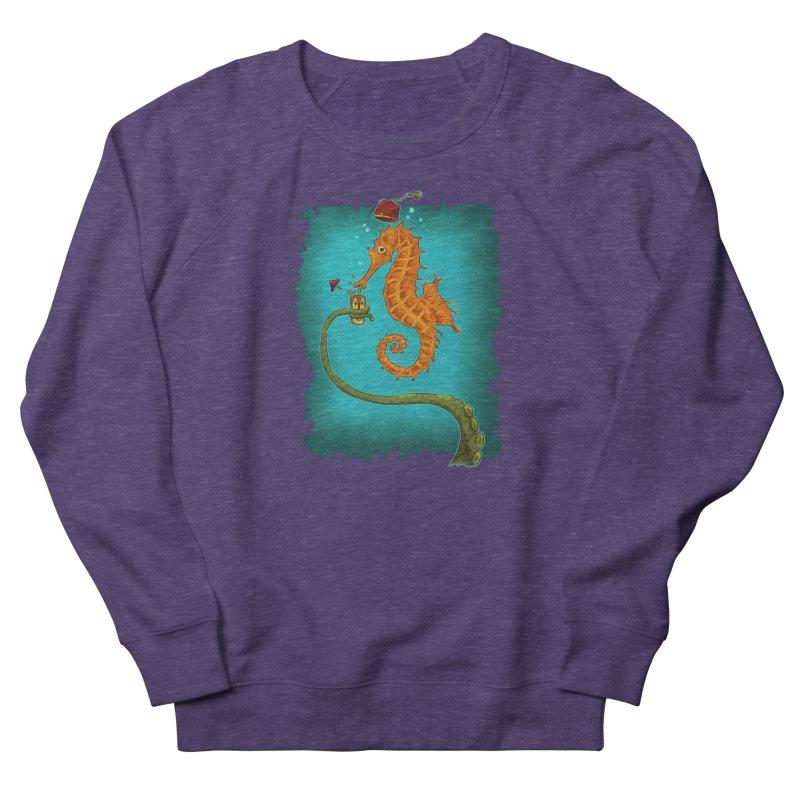 Drinking Buddies Women's French Terry Sweatshirt by Zerostreet's Artist Shop