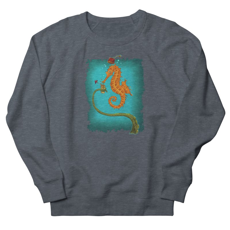 Drinking Buddies Women's French Terry Sweatshirt by Zero Street's Artist Shop