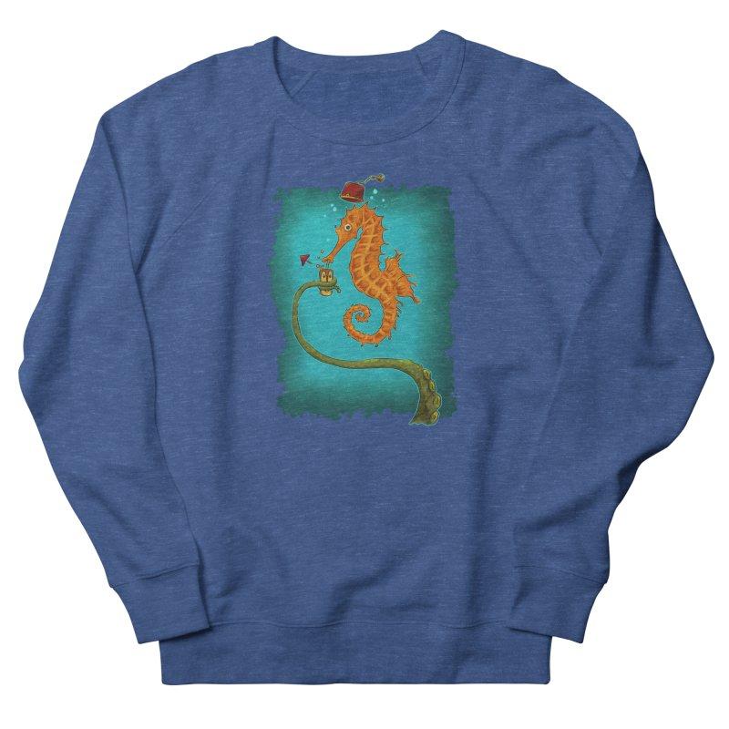 Drinking Buddies Men's French Terry Sweatshirt by Zerostreet's Artist Shop