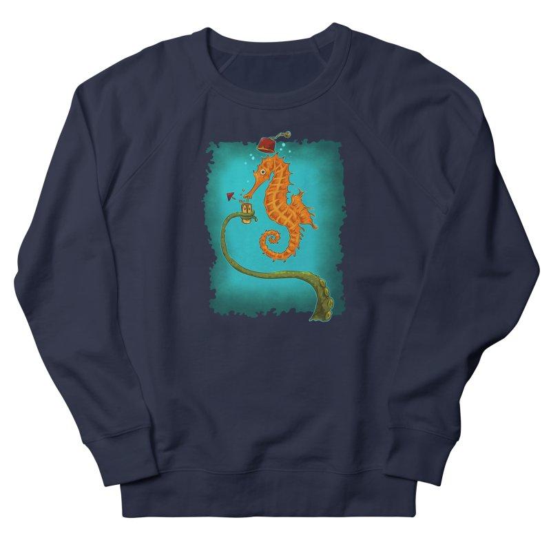Drinking Buddies Men's French Terry Sweatshirt by Zero Street's Artist Shop