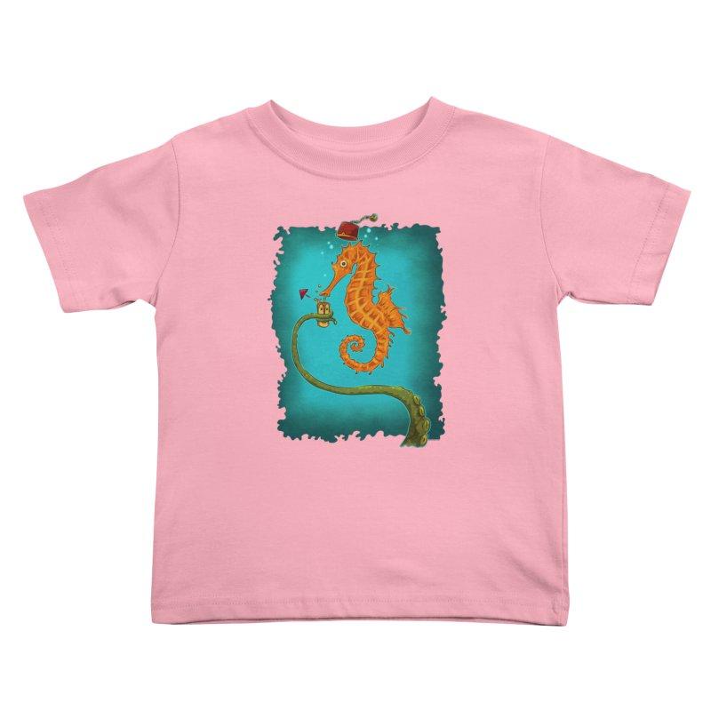 Drinking Buddies Kids Toddler T-Shirt by Zero Street's Artist Shop