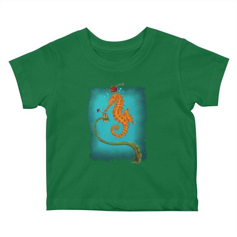 Drinking Buddies Kids Baby T-Shirt by Zero Street's Artist Shop