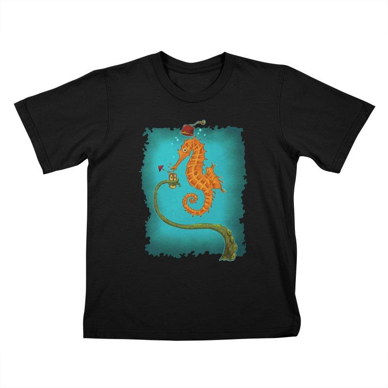 Drinking Buddies Kids T-Shirt by Zero Street's Artist Shop