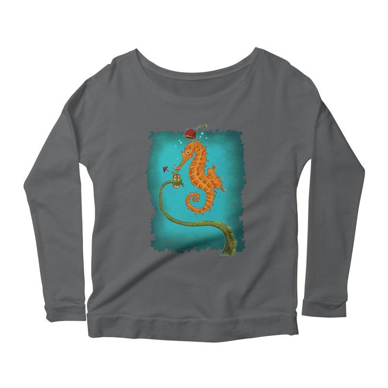 Drinking Buddies Women's Scoop Neck Longsleeve T-Shirt by Zerostreet's Artist Shop