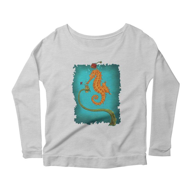 Drinking Buddies Women's Scoop Neck Longsleeve T-Shirt by Zero Street's Artist Shop