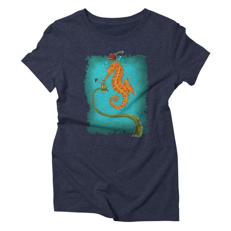 Drinking Buddies Women's Triblend T-Shirt by Zero Street's Artist Shop