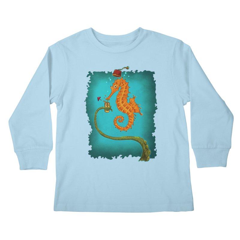 Drinking Buddies Kids Longsleeve T-Shirt by Zero Street's Artist Shop