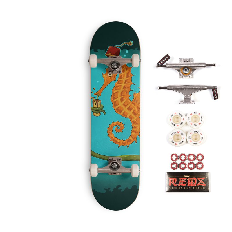Drinking Buddies Accessories Complete - Pro Skateboard by Zero Street's Artist Shop