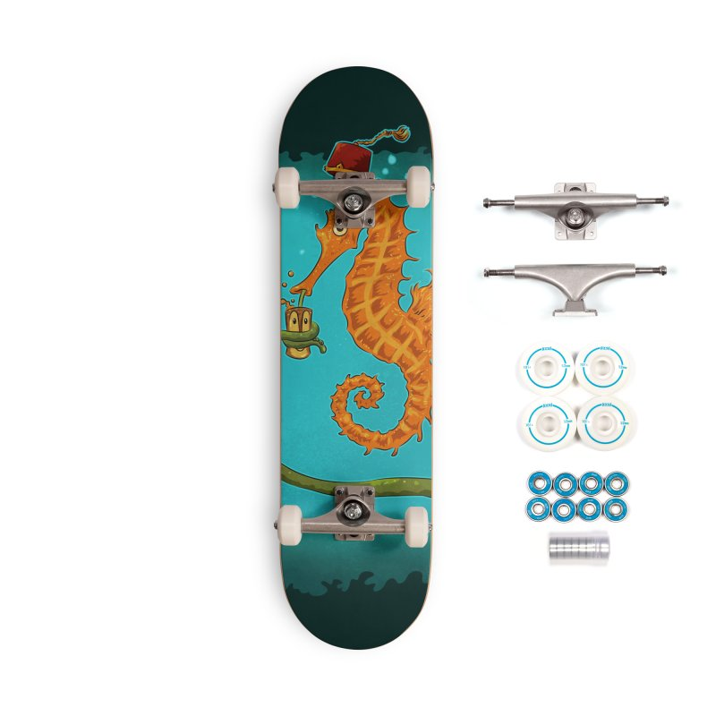 Drinking Buddies Accessories Complete - Basic Skateboard by Zerostreet's Artist Shop