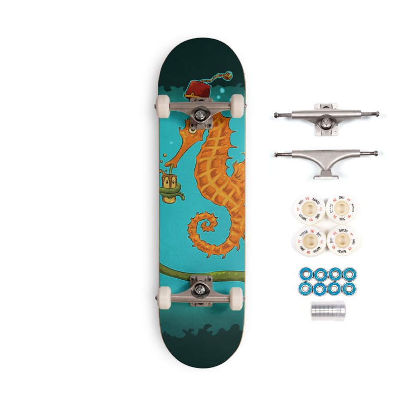 Drinking Buddies Accessories Complete - Premium Skateboard by Zerostreet's Artist Shop