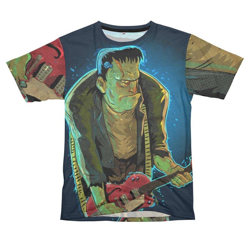 Riffenstein Men's French Terry T-Shirt Cut & Sew by Zerostreet's Artist Shop