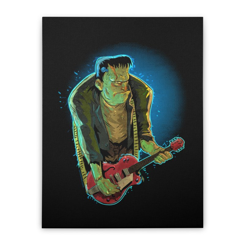 Riffenstein Home Stretched Canvas by Zerostreet's Artist Shop