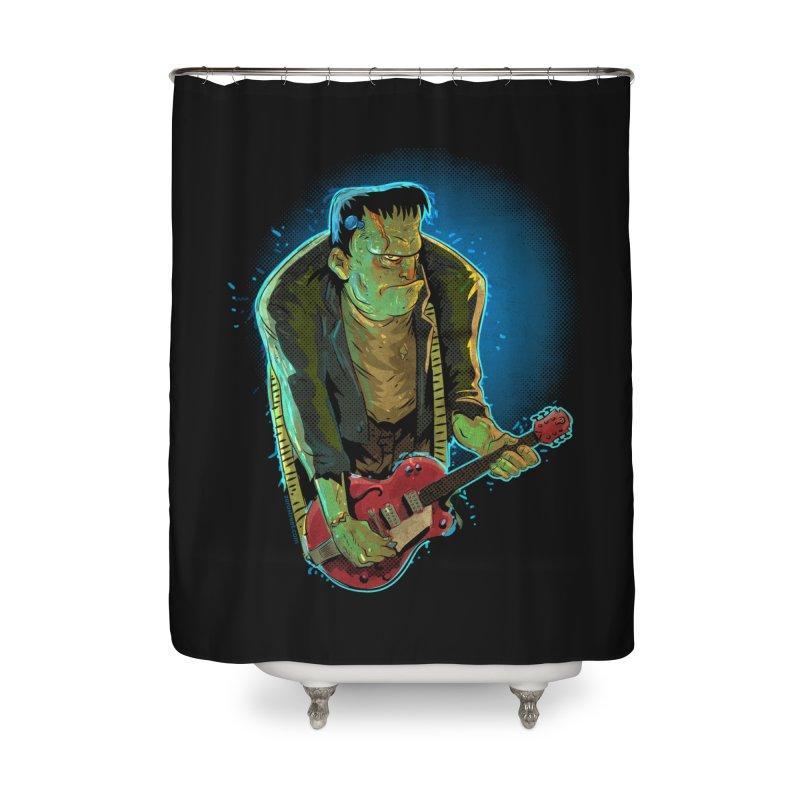 Riffenstein Home Shower Curtain by Zero Street's Artist Shop