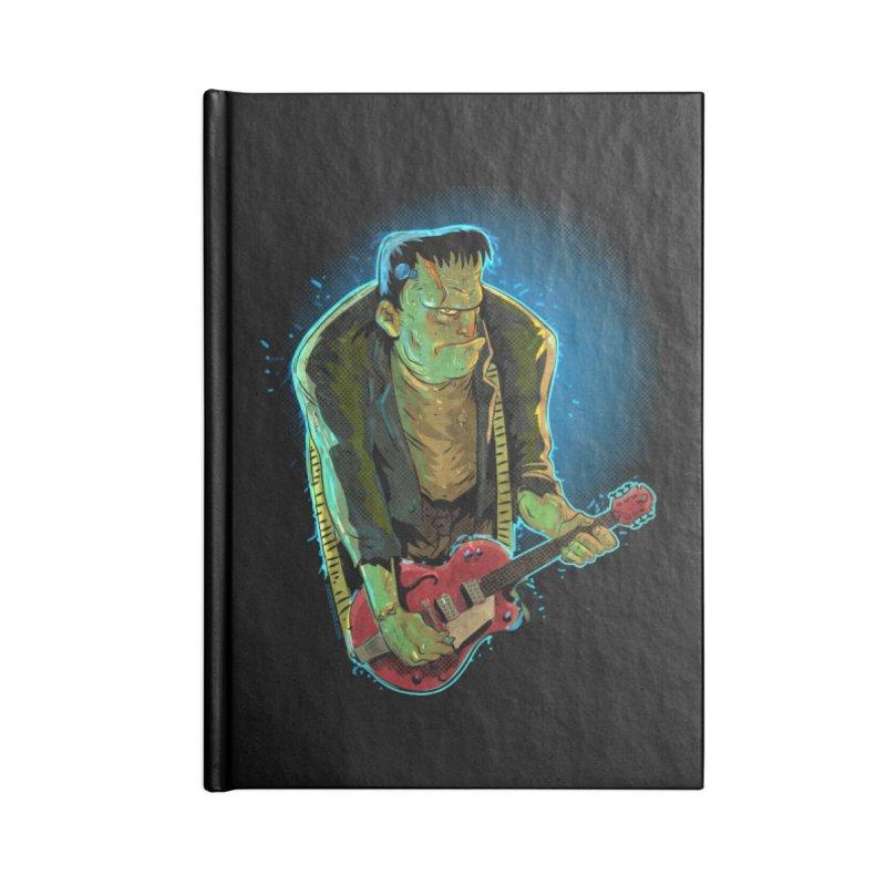 Riffenstein Accessories Blank Journal Notebook by Zero Street's Artist Shop